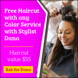 Free Haircut with Dana